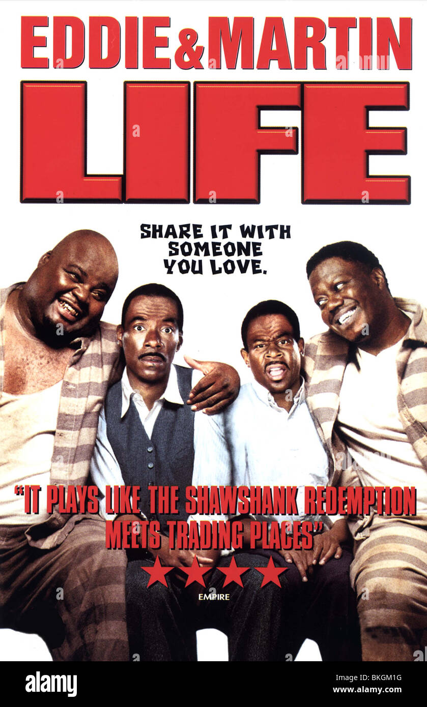 LIFE -1999 POSTER - Stock Image