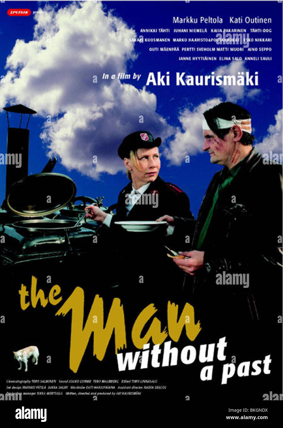 THE MAN WITHOUT A PAST (2002) POSTER MWAP 001-06 - Stock Image