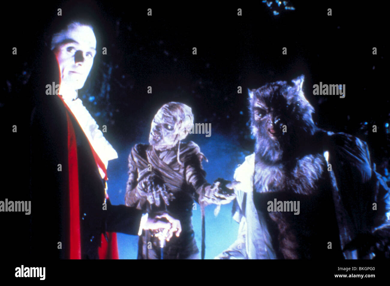 THE MONSTER SQUAD -1986 - Stock Image