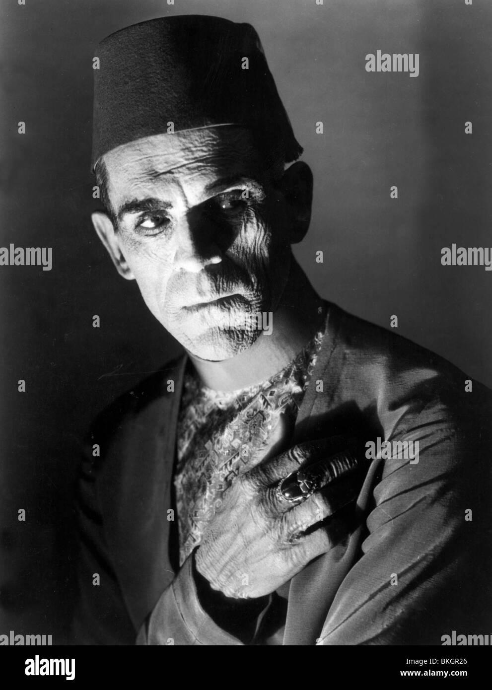 THE MUMMY -1932 BORIS KARLOFF - Stock Image