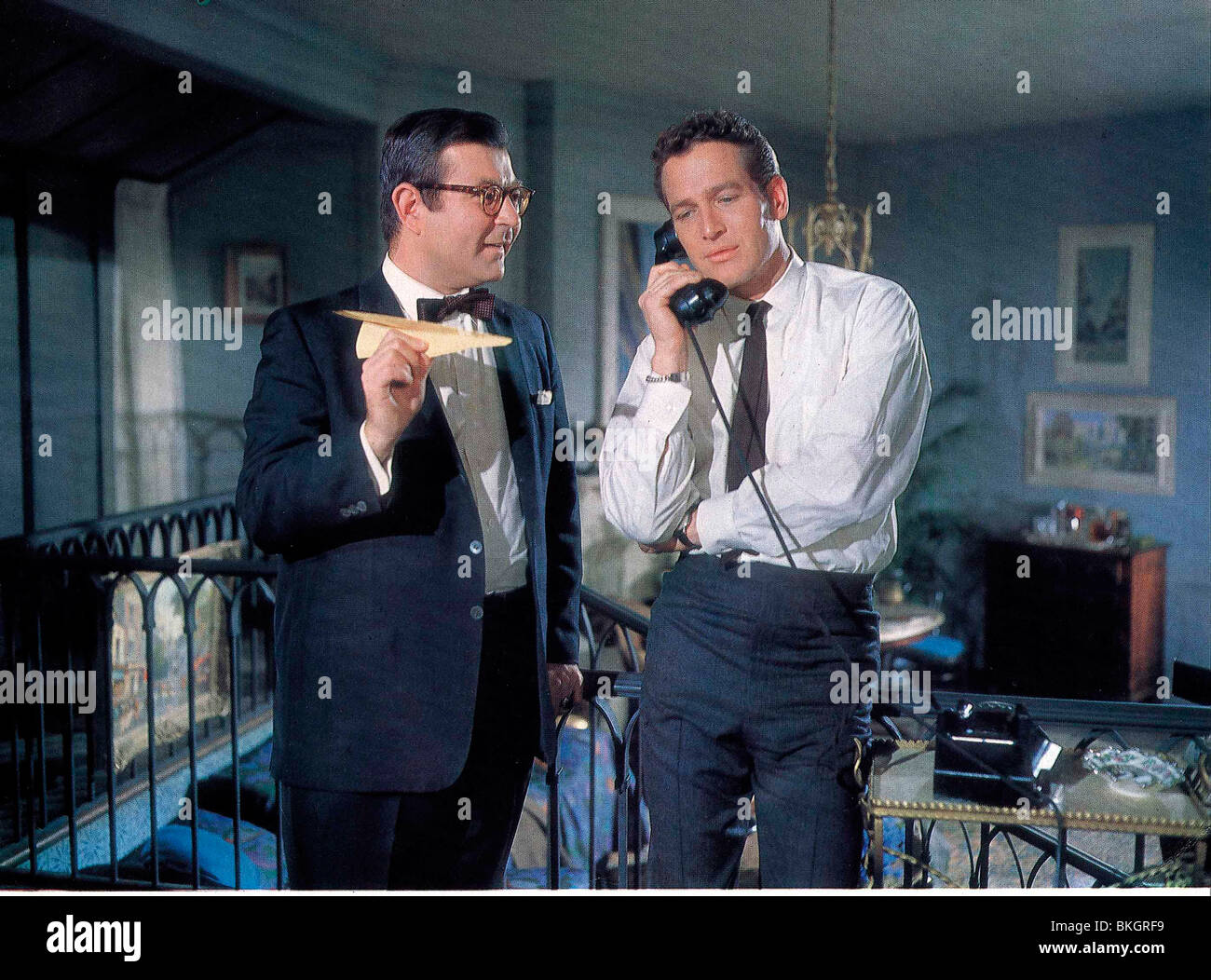 A NEW KIND OF LOVE (1963) MARVIN KAPLAN, PAUL NEWMAN NKOL 015 - Stock Image