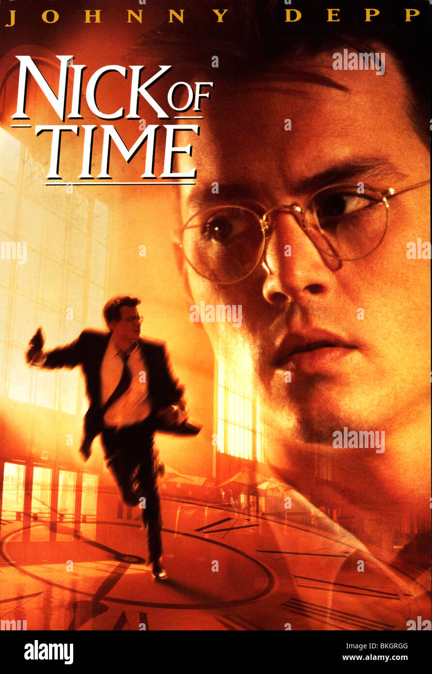 NICK OF TIME -1995 POSTER - Stock Image