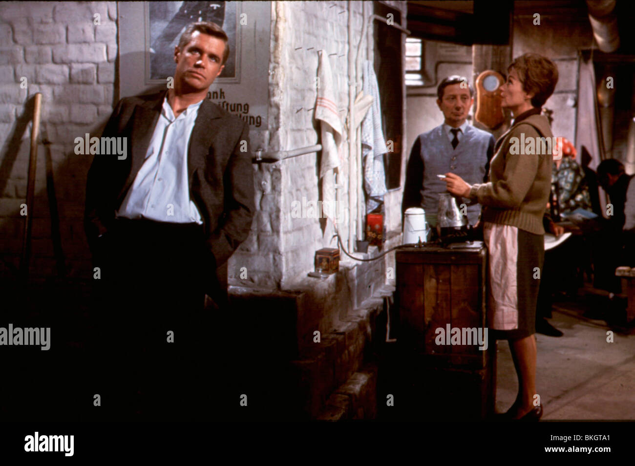 OPERATION CROSSBOW (1965) THE GREAT SPY MISSION (ALT) GEORGE PEPPARD, LILLI PALMER OPC 002 - Stock Image