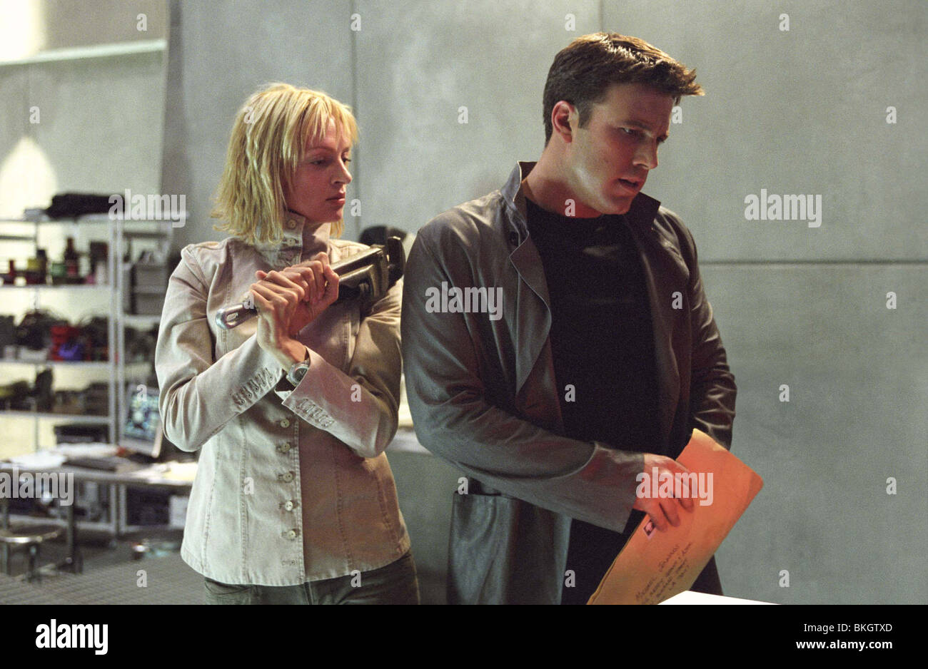 paycheck 2003 uma thurman ben affleck payc 00118 stock