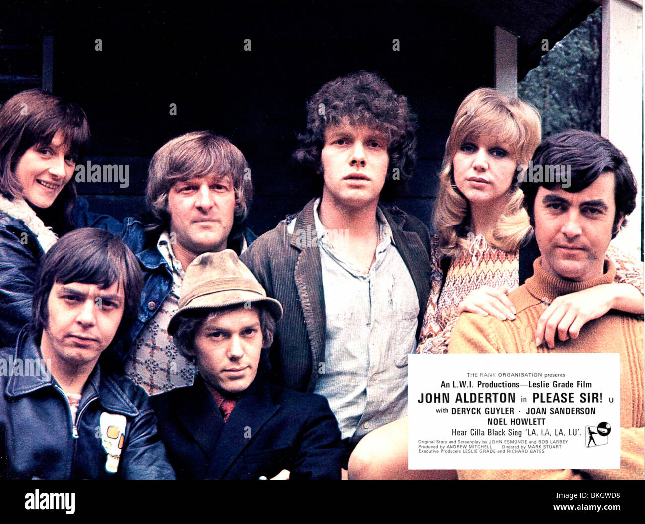 PLEASE SIR! (1971) PLEASE SIR (ALT) JOHN ALDERTON, CAROL HAWKINS, MARK STUART (DIR) PSIR 001 FOH - Stock Image