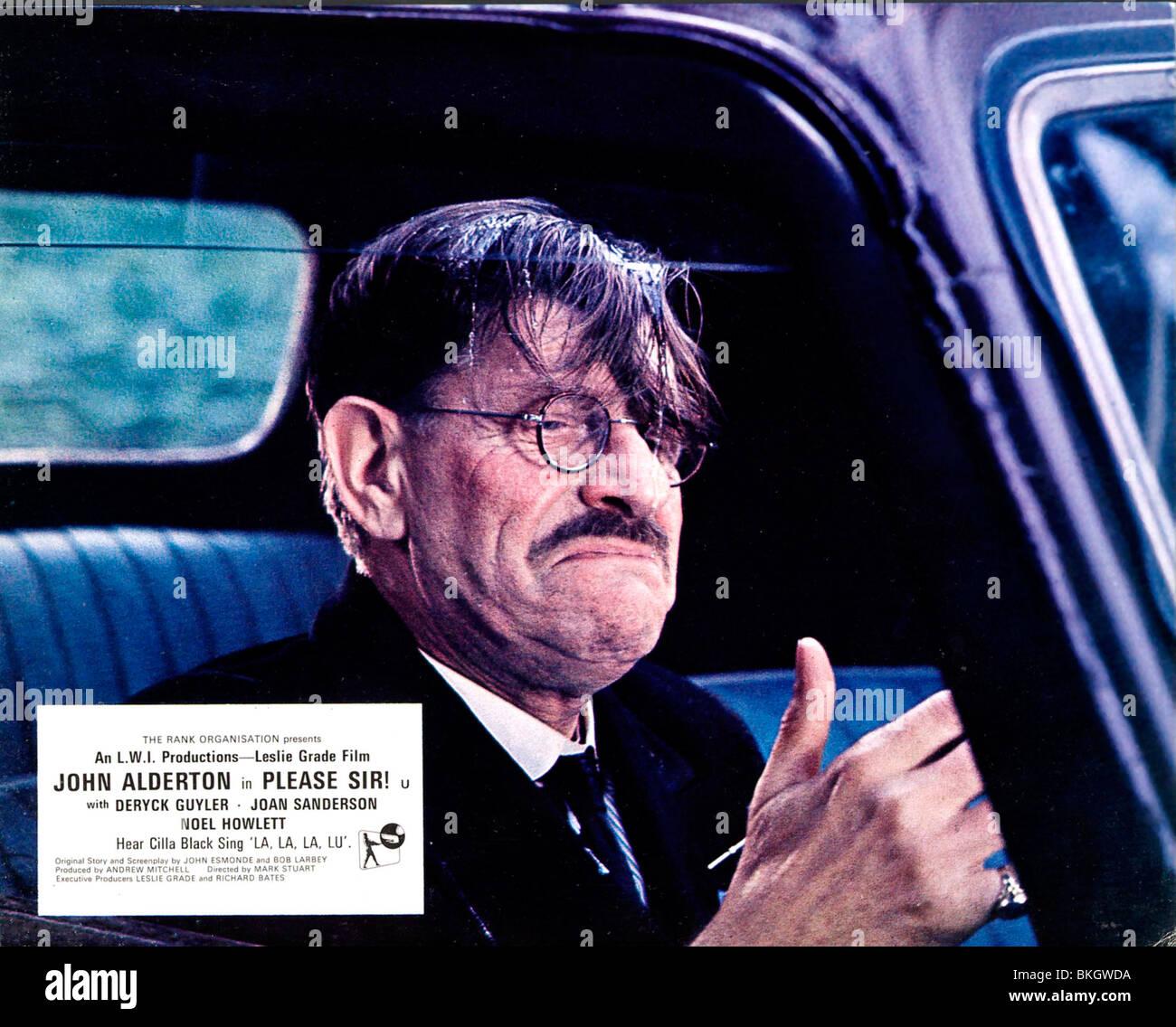 PLEASE SIR! (1971) PLEASE SIR (ALT) DERYCK GUYLER, MARK STUART (DIR) PSIR 002 FOH - Stock Image