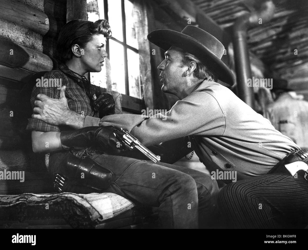 PONY EXPRESS (1953) JAN STERLING, FORREST TUCKER PEX 011P - Stock Image