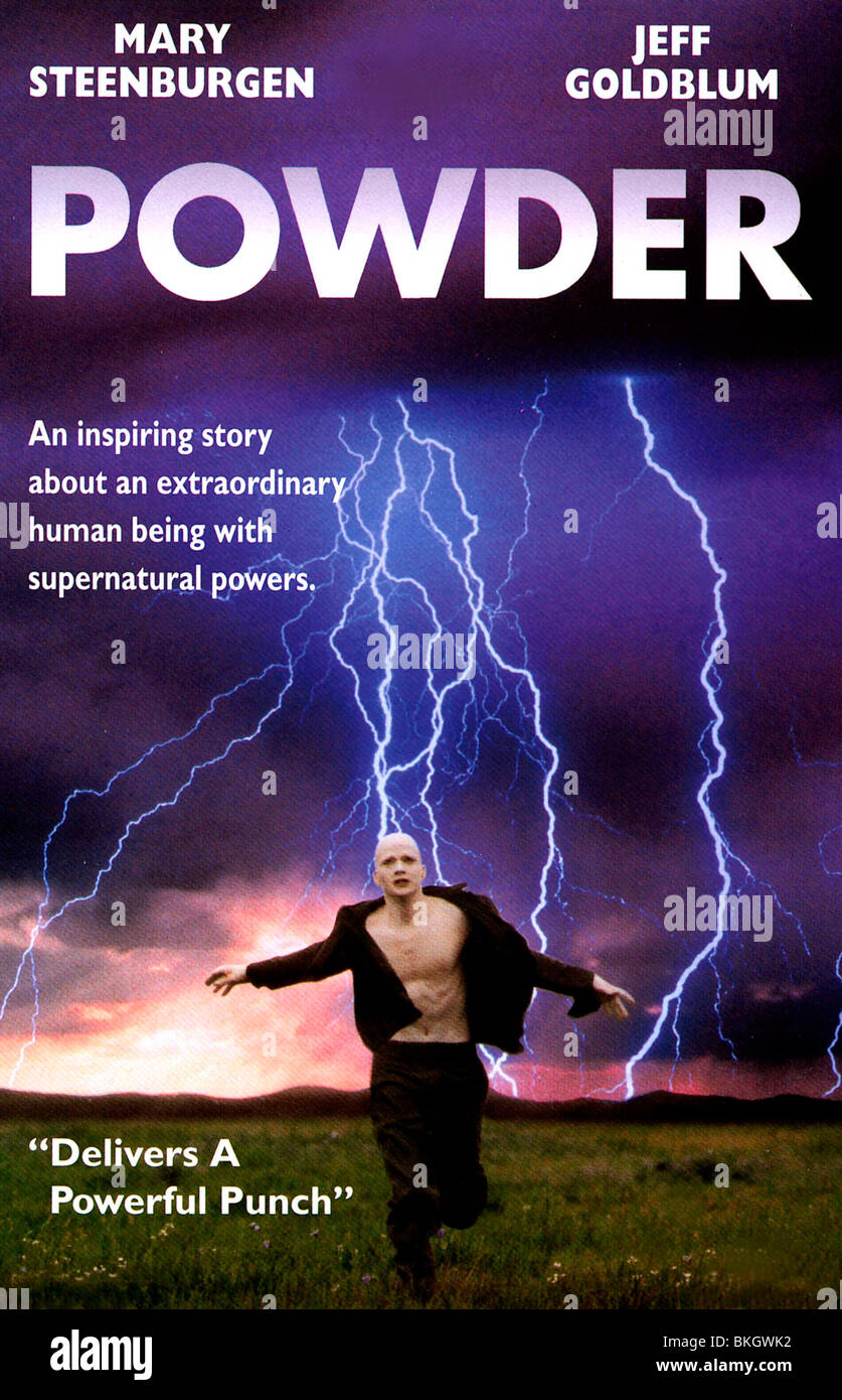 POWDER -1995 POSTER - Stock Image