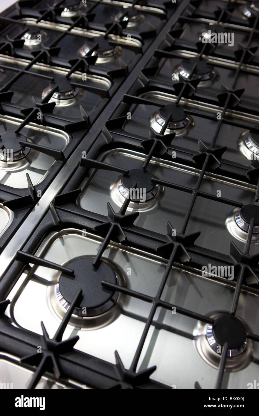 kitchen stove - Stock Image