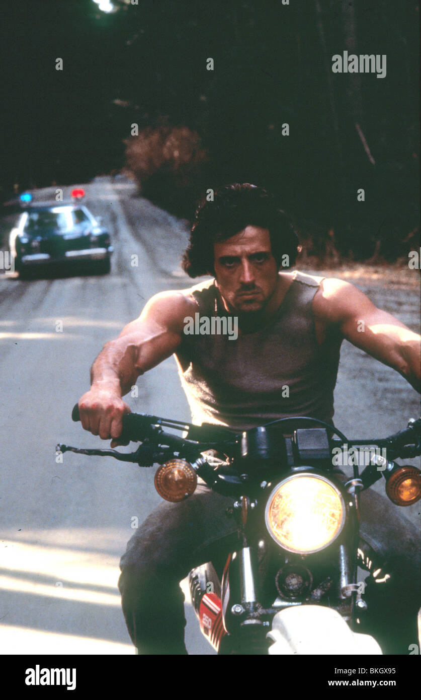 RAMBO: FIRST BLOOD (1982) SYLVESTER STALLONE FSTB 004 L - Stock Image
