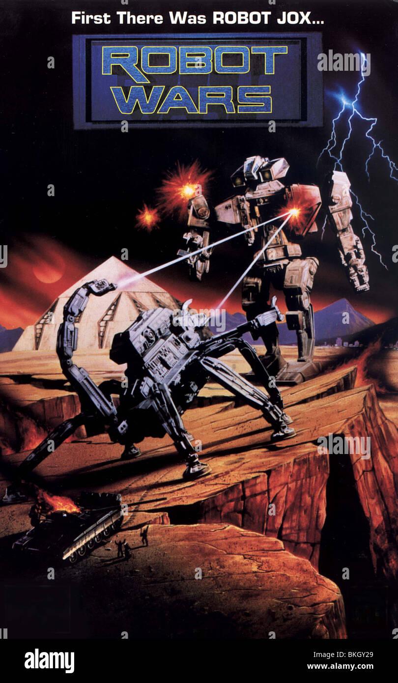ROBOT WARS -1993 POSTER - Stock Image