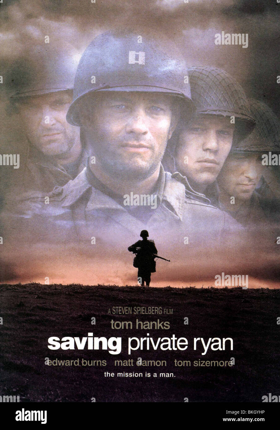 Saving Private Ryan 1998 Poster Sapr 001pp Stock Photo Alamy