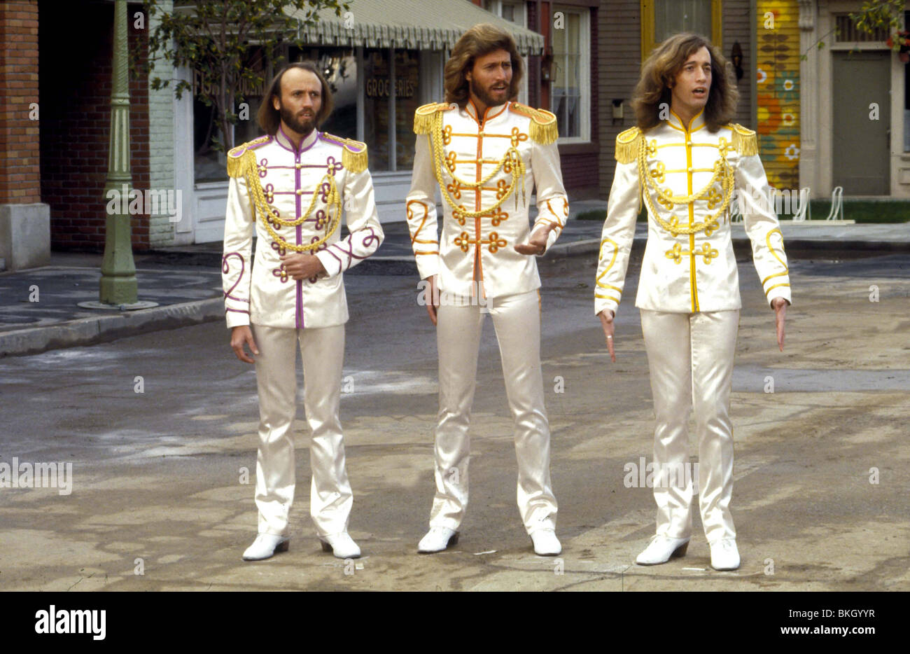 SGT PEPPER'S LONELY HEARTS CLUB BAND (1978) THE BEE GEE'S SGTP 001 - Stock Image