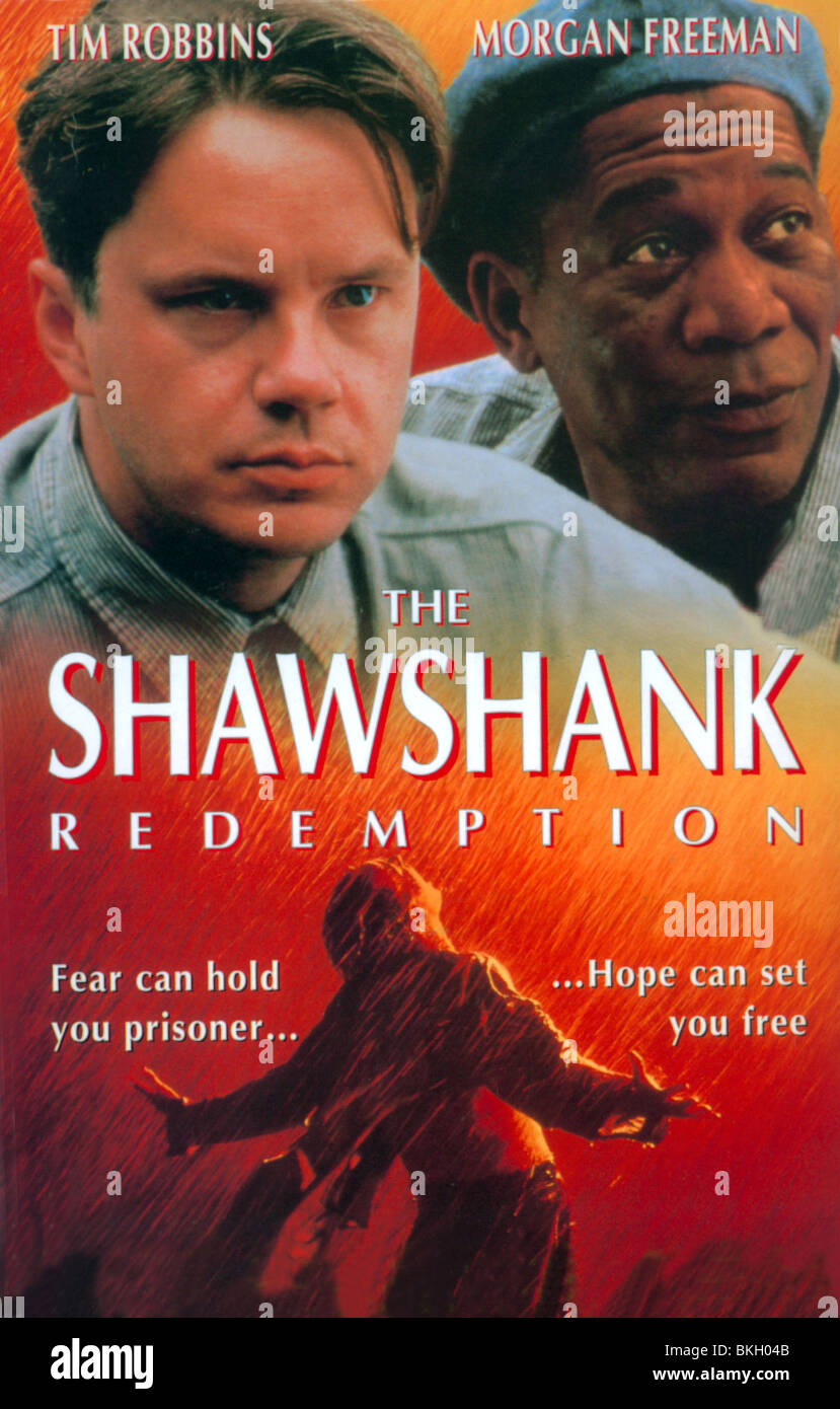 THE SHAWSHANK REDEMPTION (1994) POSTER SHWK 003VS - Stock Image