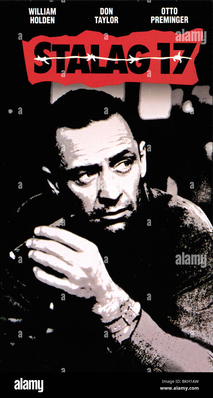 STALAG 17 -1953 POSTER - Stock Image