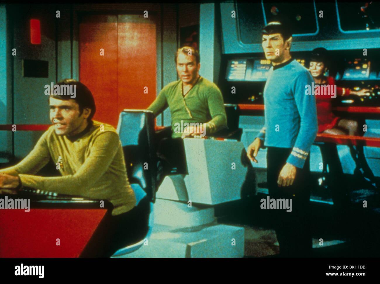STAR TREK (TV) WALTER KOENIG, WILLIAM SHATNER, LEONARD NIMOY, NICHELLE NICHOLS STK 058 - Stock Image