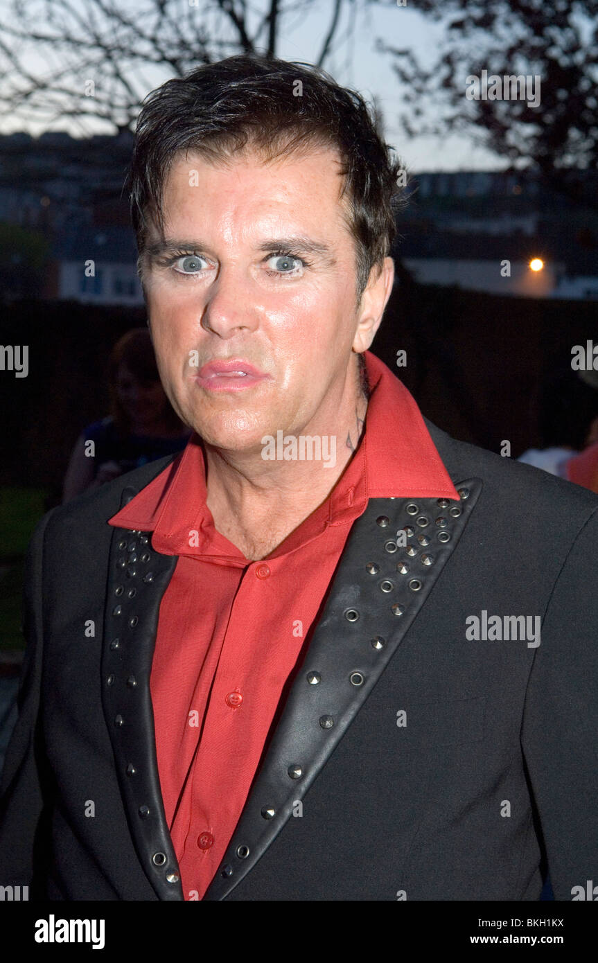 80's band Visage lead singer Steve Strange attending the Boy George 'Up Close and Personal' concert - Stock Image