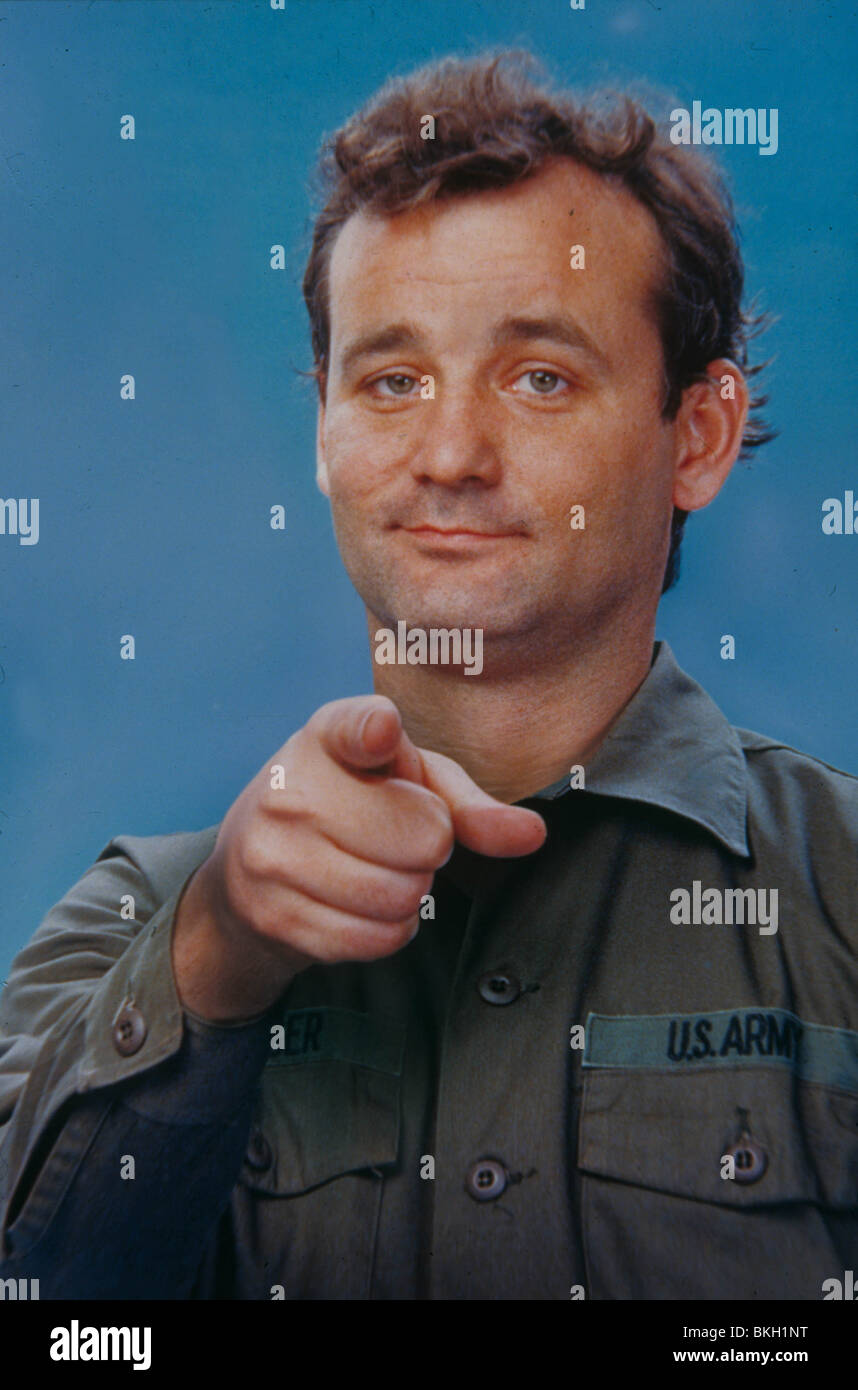 STRIPES -1981 BILL MURRAY - Stock Image