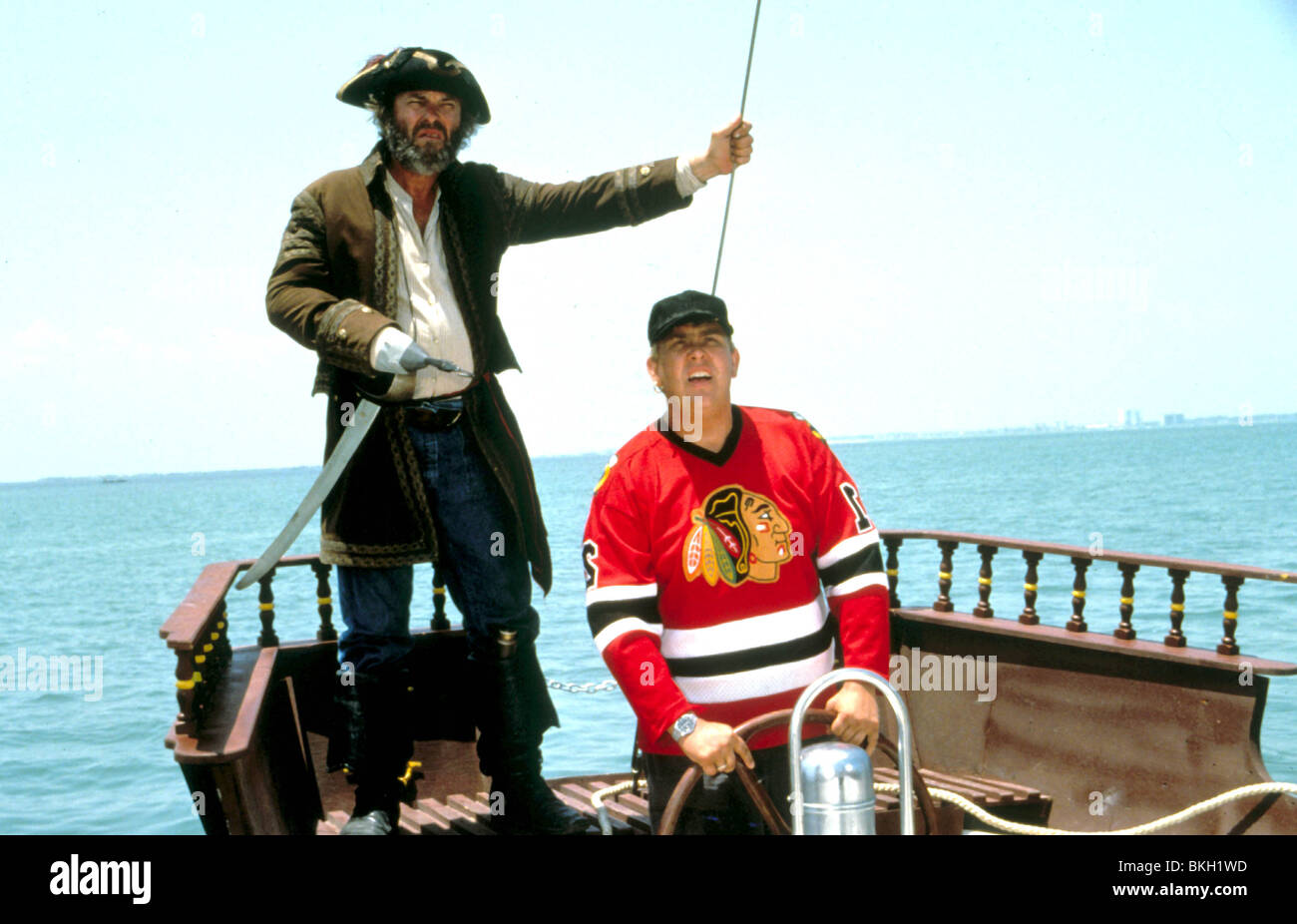 Summer Rental 1985 Rip Torn John Candy Smrr 002 Stock Photo Alamy