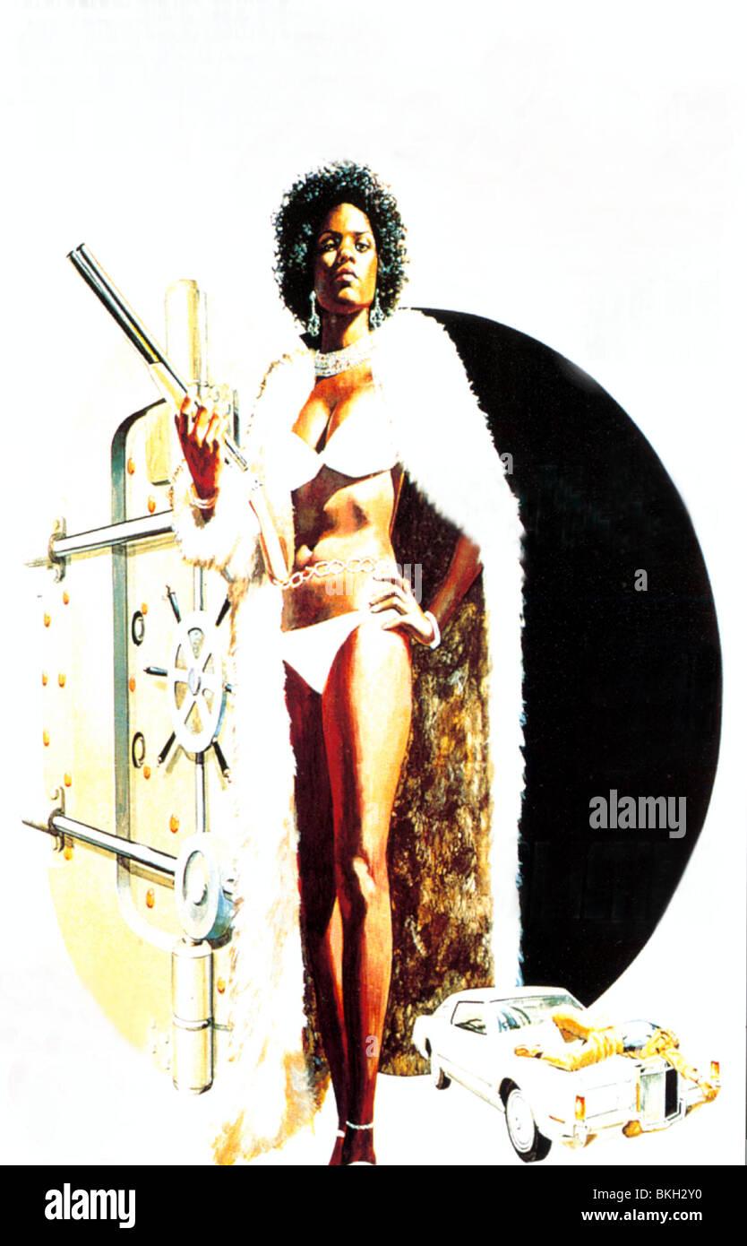 TNT JACKSON -1974 POSTER - Stock Image