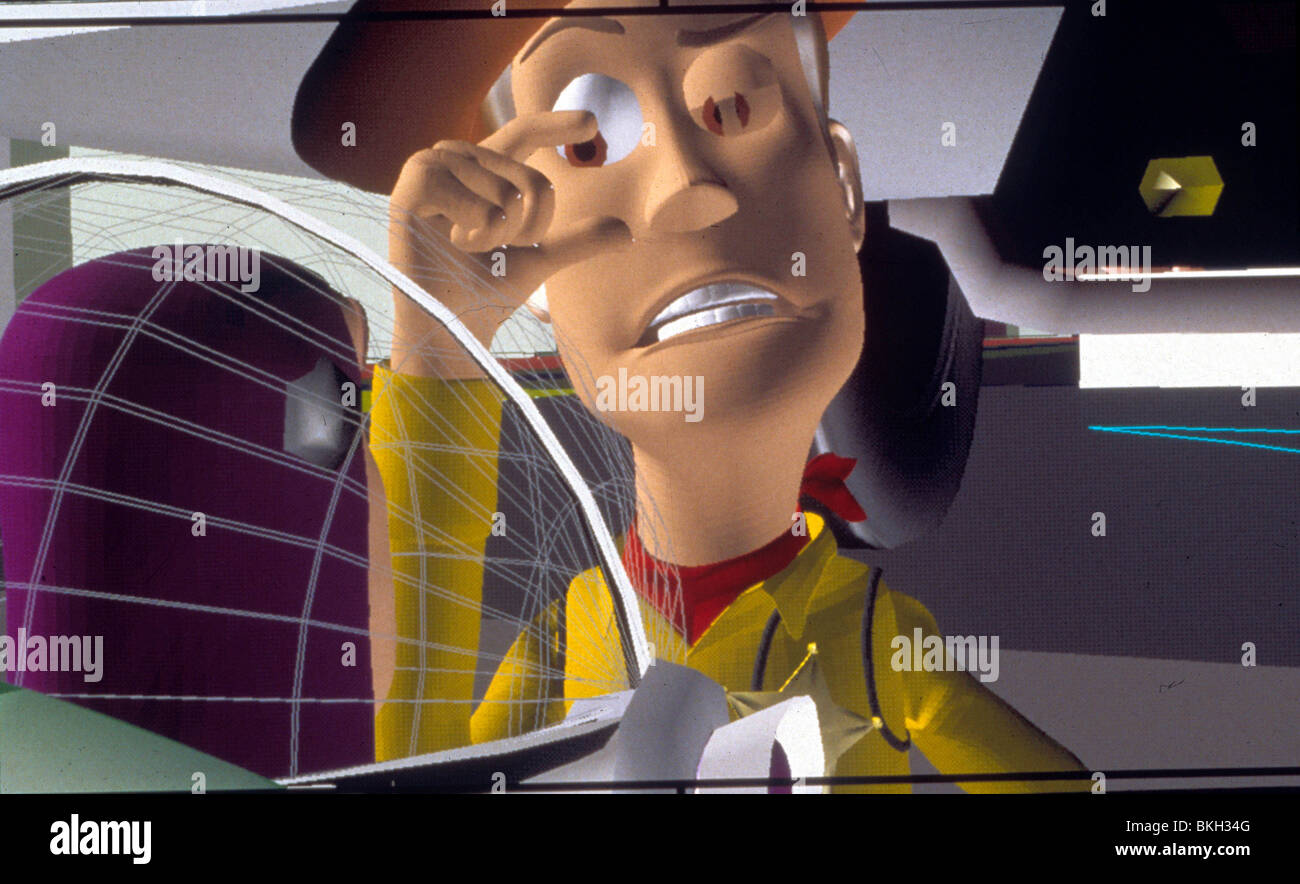 TOY STORY (1995) ANIMATED WOODY CREDIT DISNEY TYSY 006 L - Stock Image