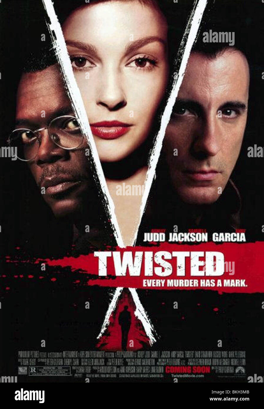 TWISTED -2004 POSTER - Stock Image