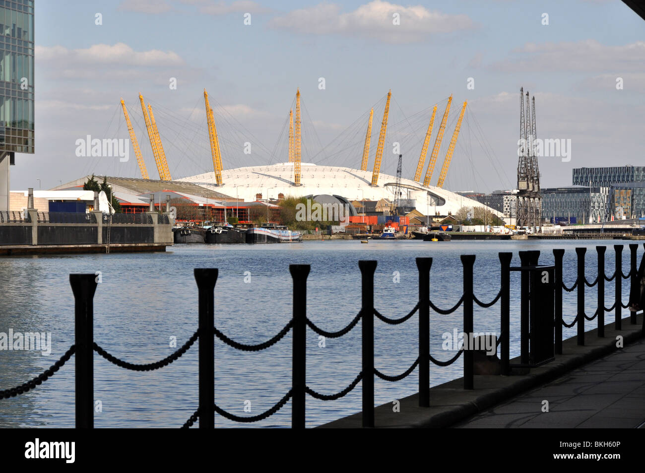 O2 - The Millennium Dome-Greenwich London UK - Stock Image