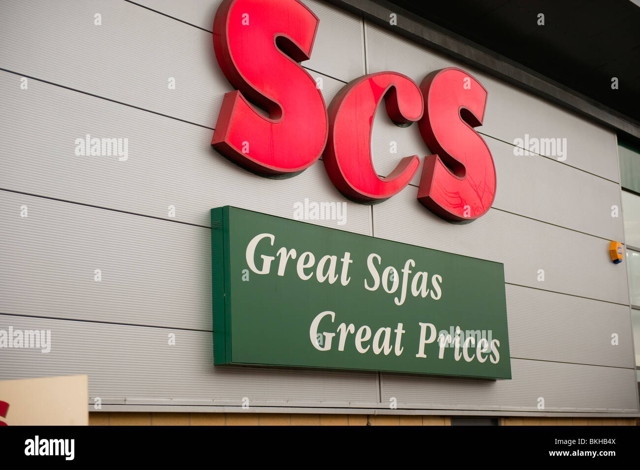 SCS Great Sofas Great Prices UK - Stock Image