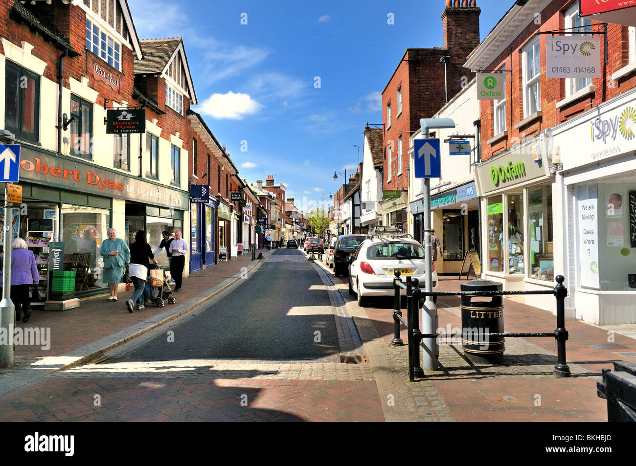 Godalming Town Centre - Stock Image