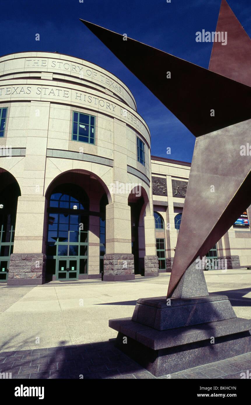 The Bob Bullock Texas State History Museum. Austin, Texas, USA Stock Photo