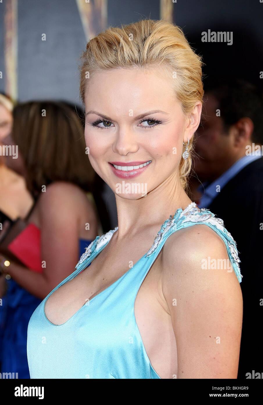 ANYA MONZIKOVA WORLDWIDE PREMIERE OF IRON MAN 2 HOLLYWOOD LOS ANGELES CA 26 April 2010 - Stock Image