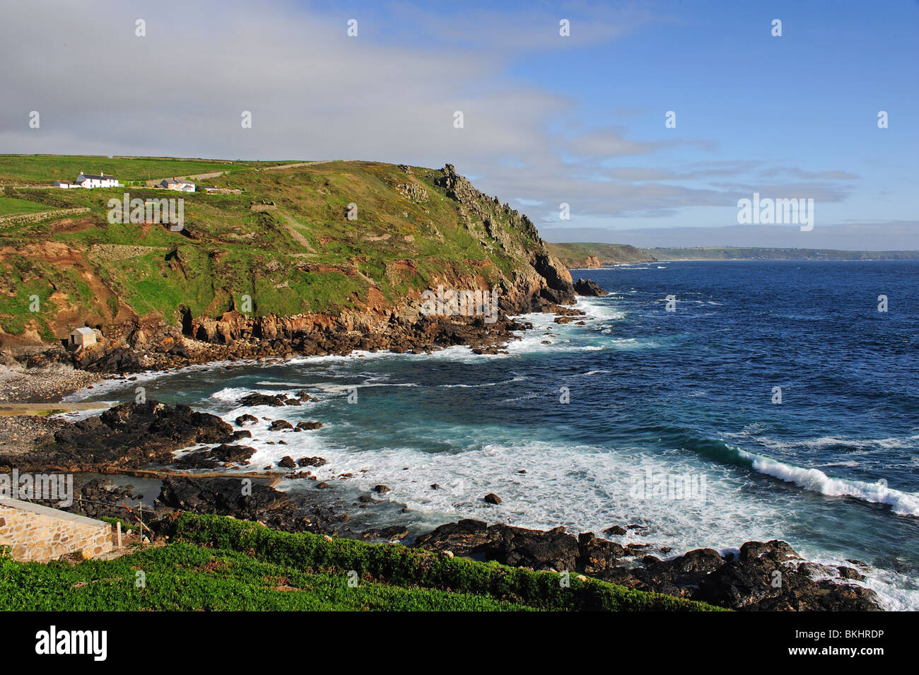 Priest Cove, Cape, Cornwall, UK - Stock Image