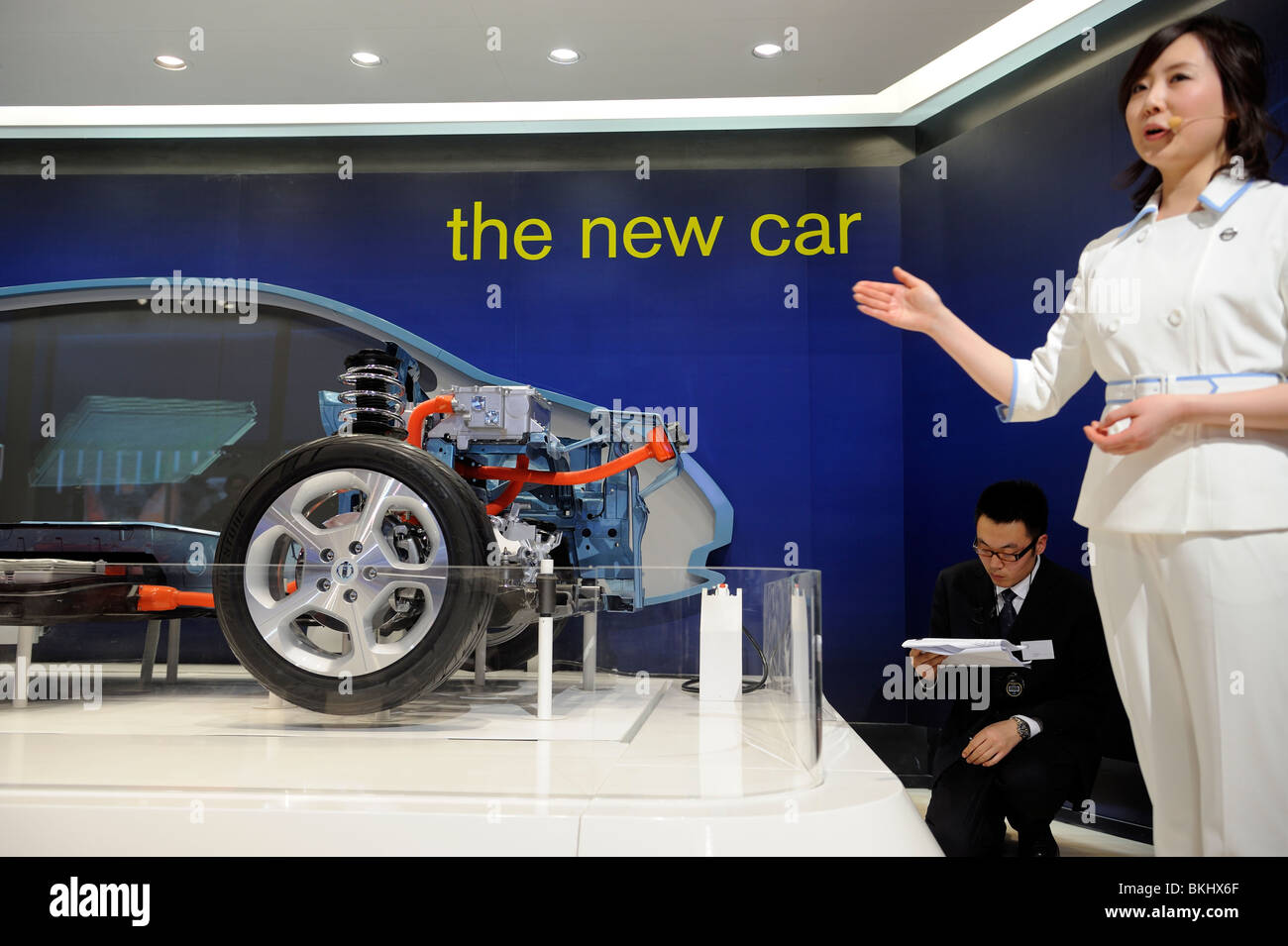 Nissan Stock Photos Images Alamy Cobalt Fuel Filter Zero Emissions Staff Introduces The Structural Model Of Motor Cos Emission Electronic