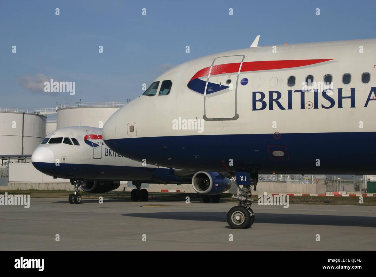 BA BRITISH AIRWAYS - Stock Image