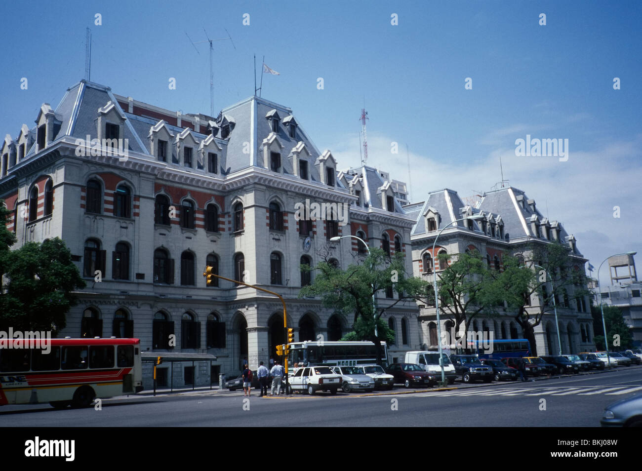 Buenos Aires, Argentina. Public Administration building in eclectic style. Stock Photo