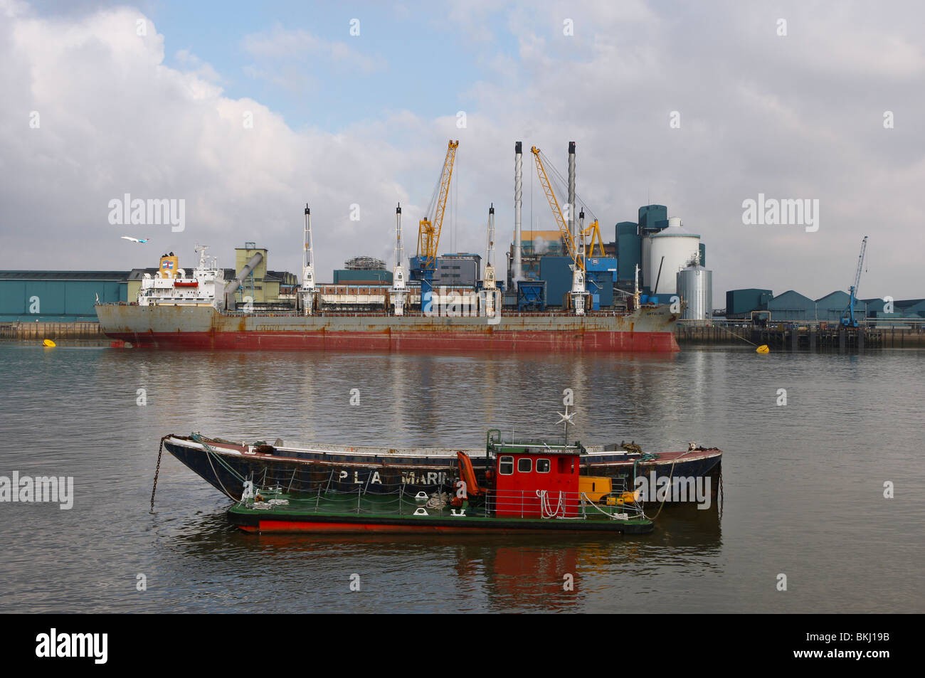 Tate and Lyle, Sugar Refinery, Silvertown, London, UK - Stock Image