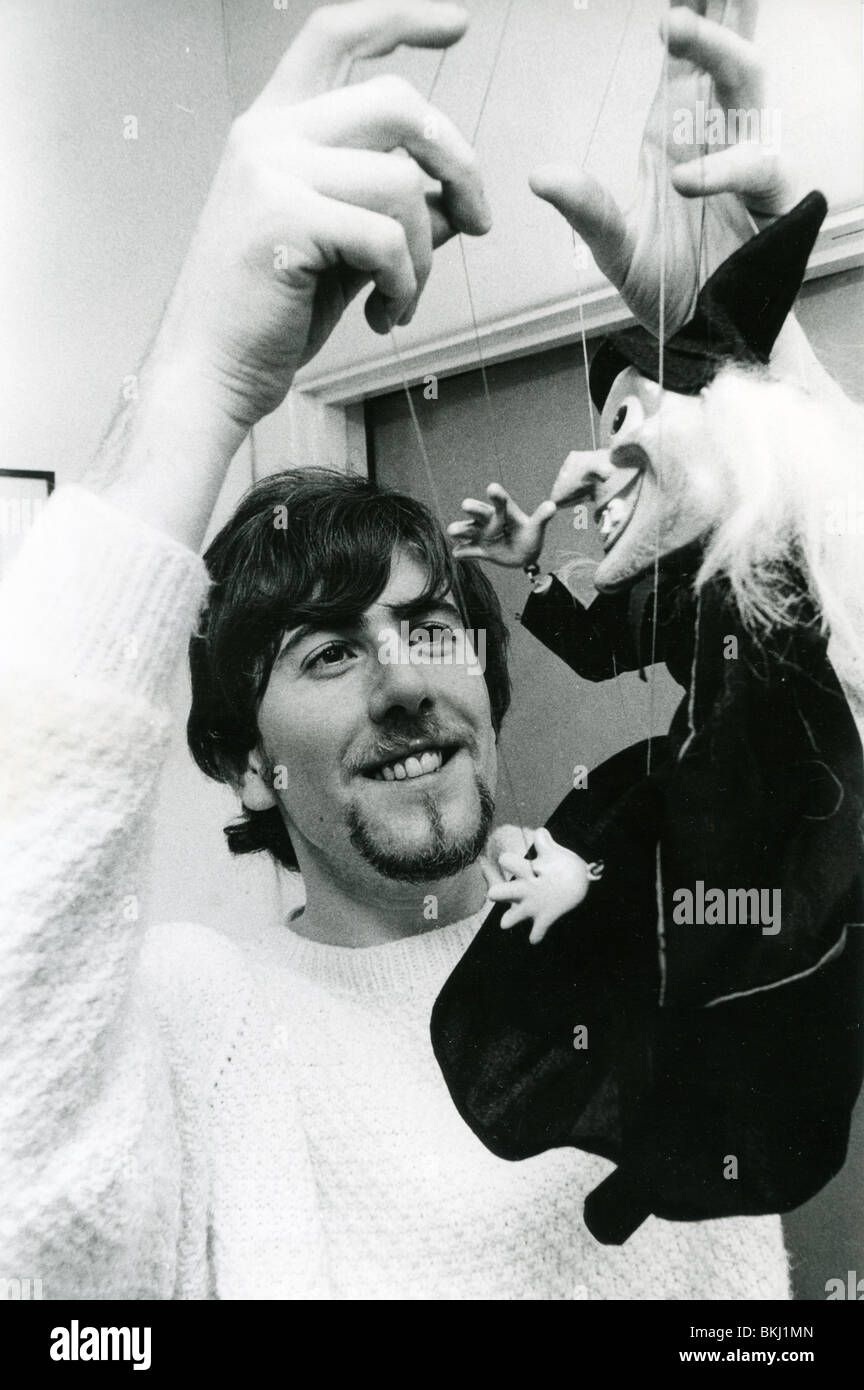 HOLLIES- UK band member Graham Nash at his London home in November 1966 - Stock Image