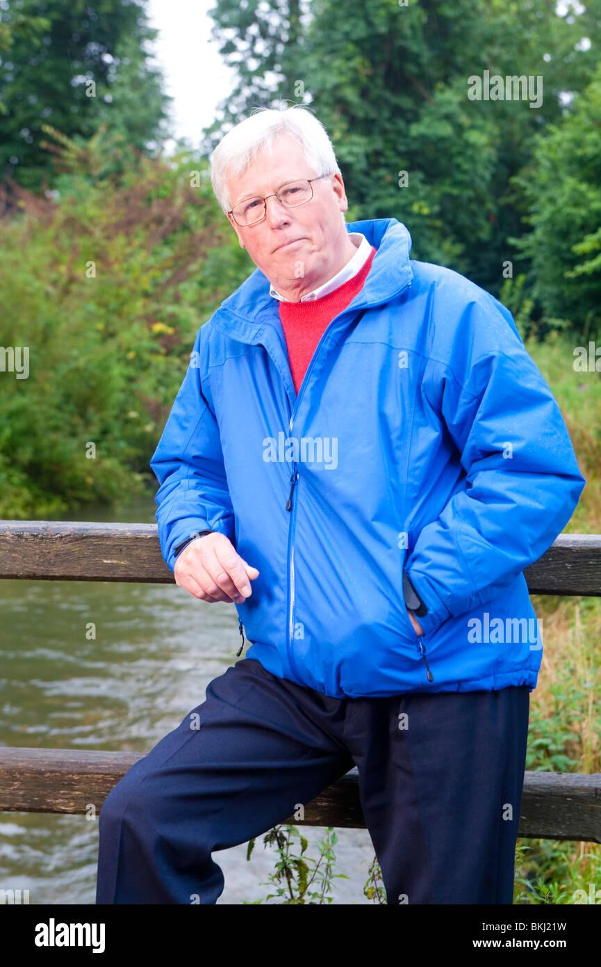 John Craven portrait - Stock Image