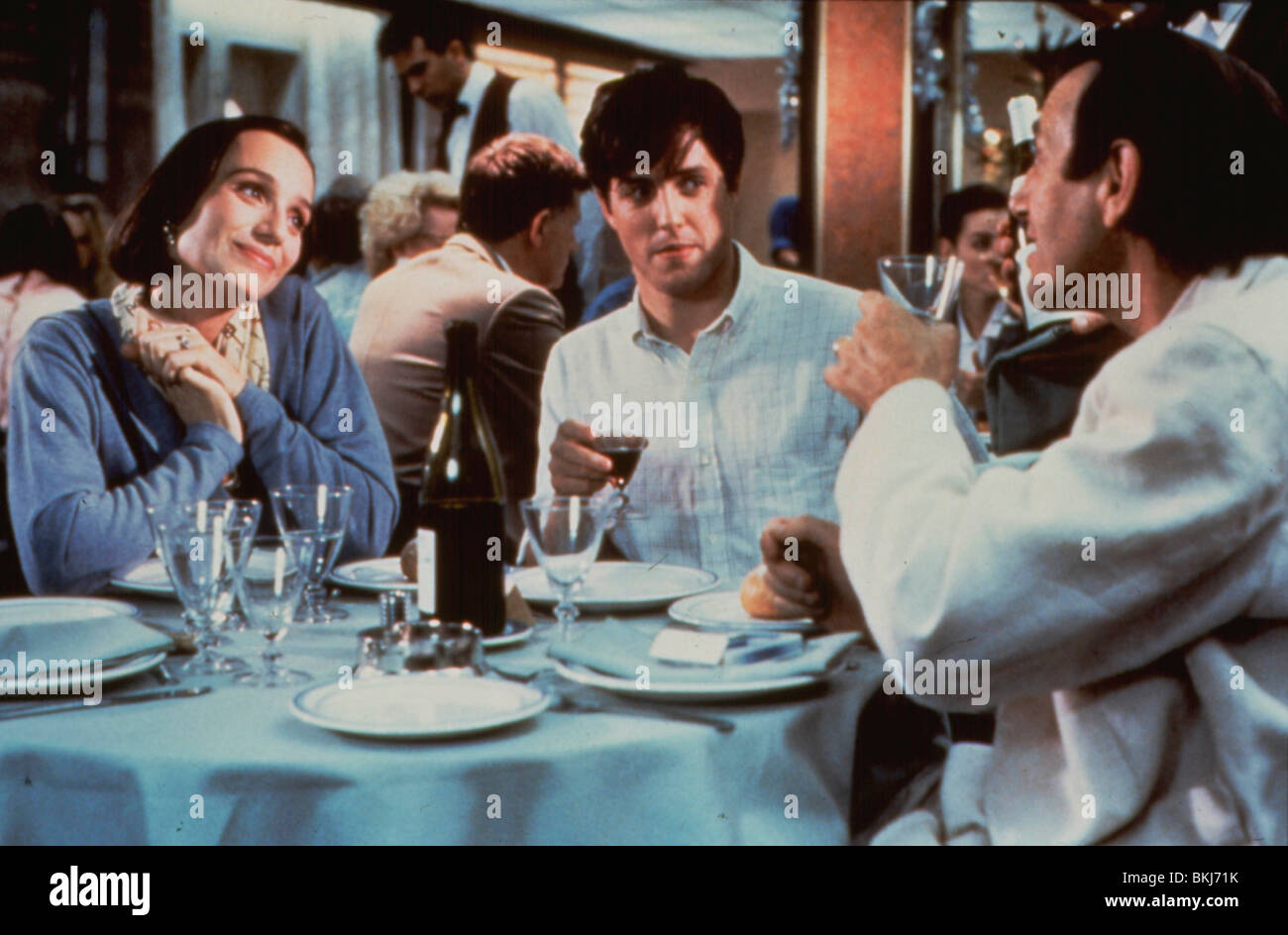 BITTER MOON (1992) KRISTIN SCOTT THOMAS, HUGH GRANT, PETER COYOTE BTM 031 - Stock Image