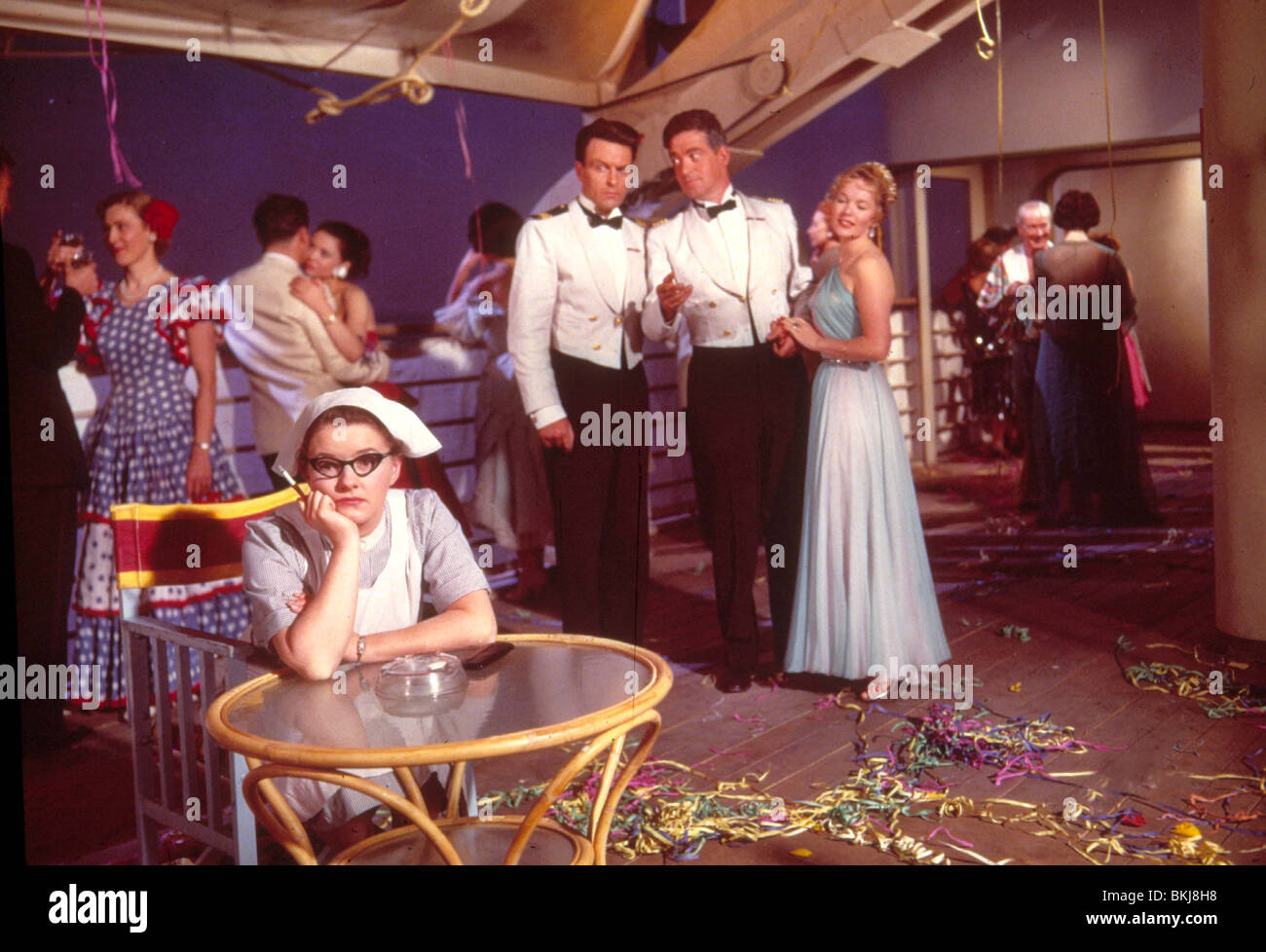 THE CAPTAIN'S TABLE -1958 - Stock Image
