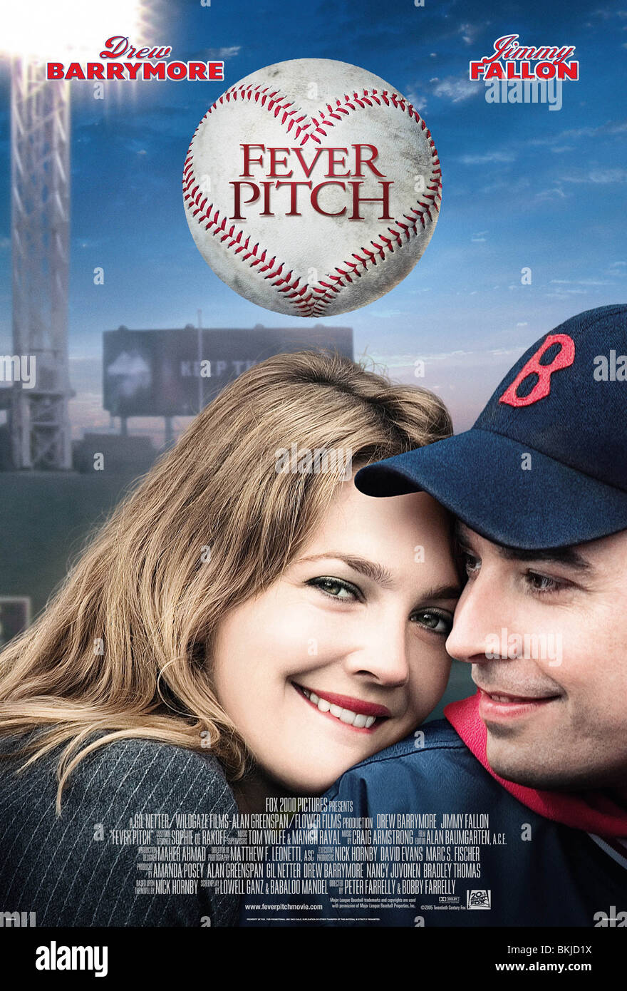FEVER PITCH -2005 POSTER - Stock Image