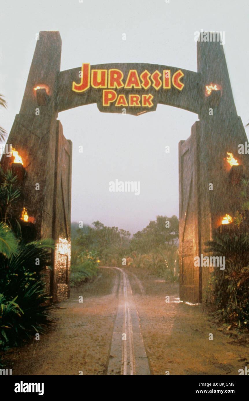 JURASSIC PARK -1993 - Stock Image