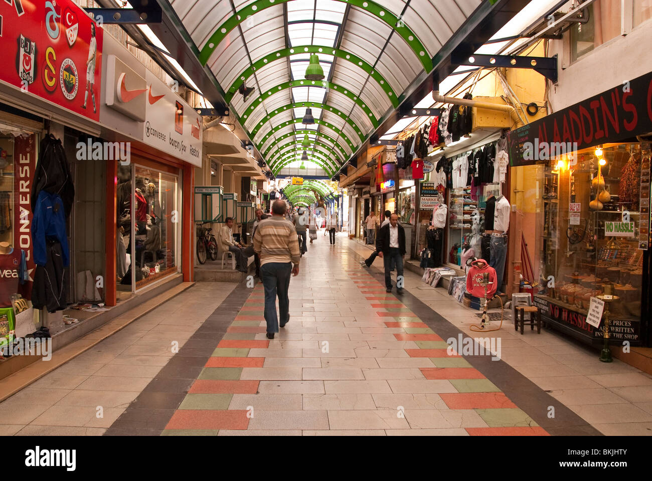 Shopping Centre in Marmaris Turkey Stock Photo