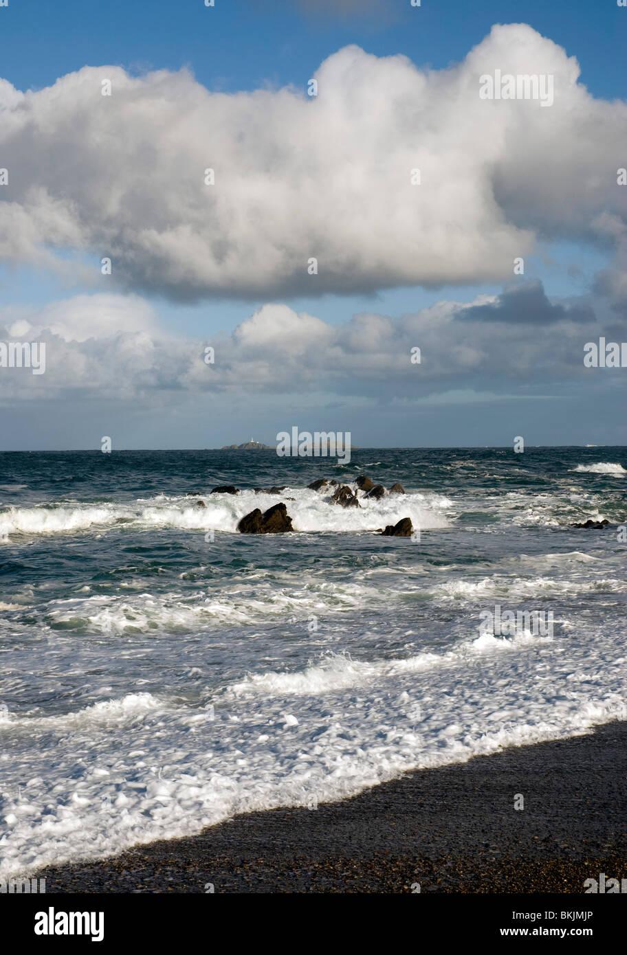 The Island of Inishtrahull off the North West coast of Ireland - Stock Image