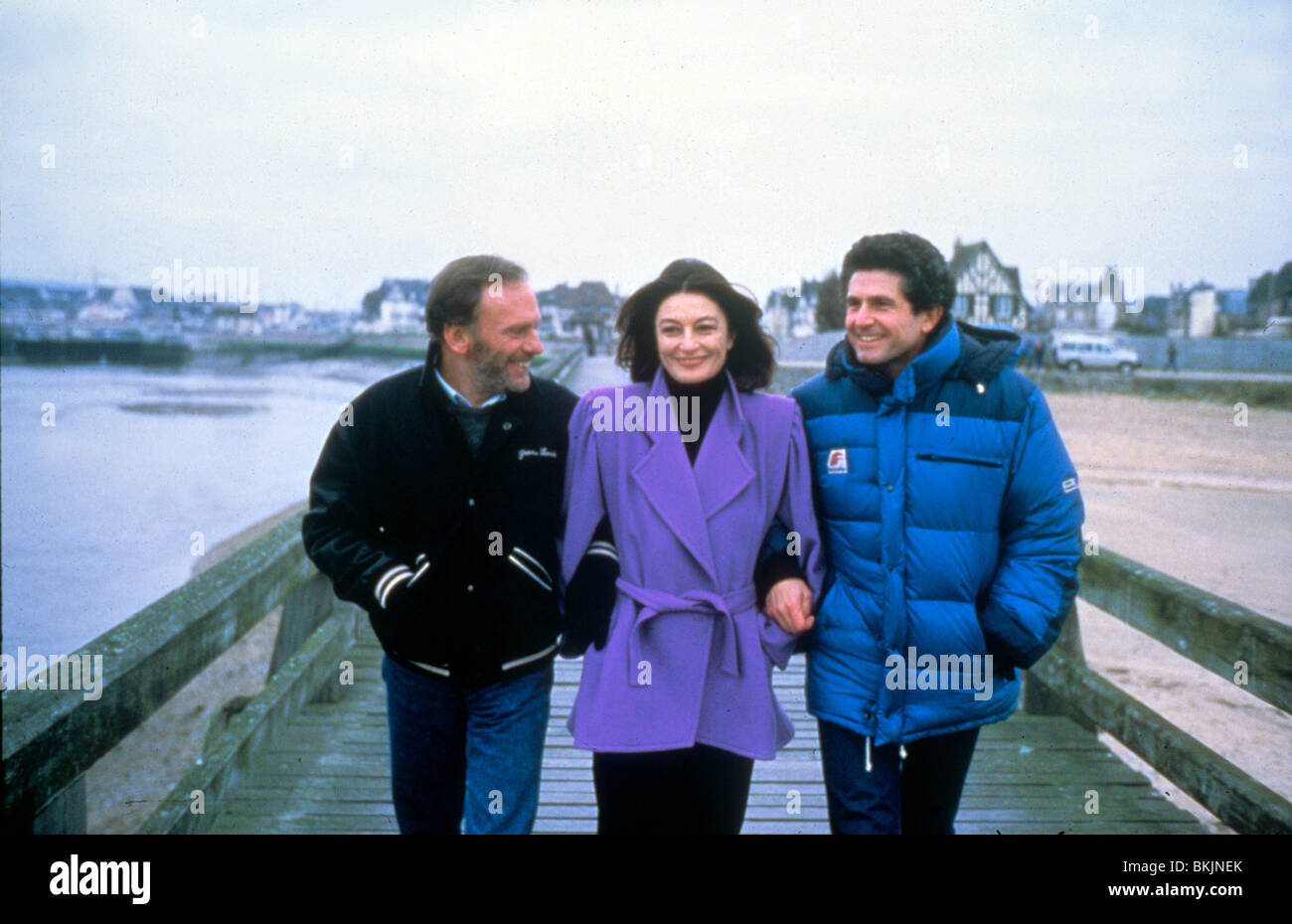 CLAUDE LELOCH (DIR) O/S 'A MAN AND A WOMAN: 20 YEARS LATER' (1986) WITH JEAN-LOUIS TRINTIGNANT, ANOUK AIMEE - Stock Image