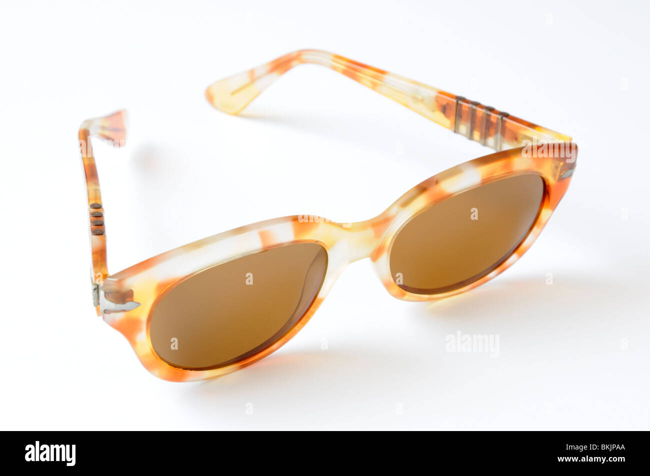 Pair of women's sunglasses from the early 1990's Stock Photo