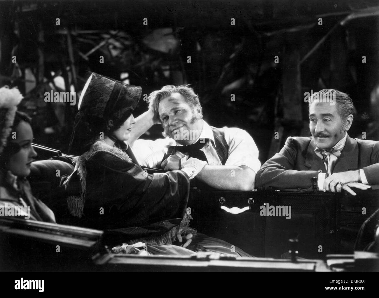MIGHTY BARNUM (1934) WALLACE BEERY, ADOLPHE MENJOU MGBR 004P - Stock Image