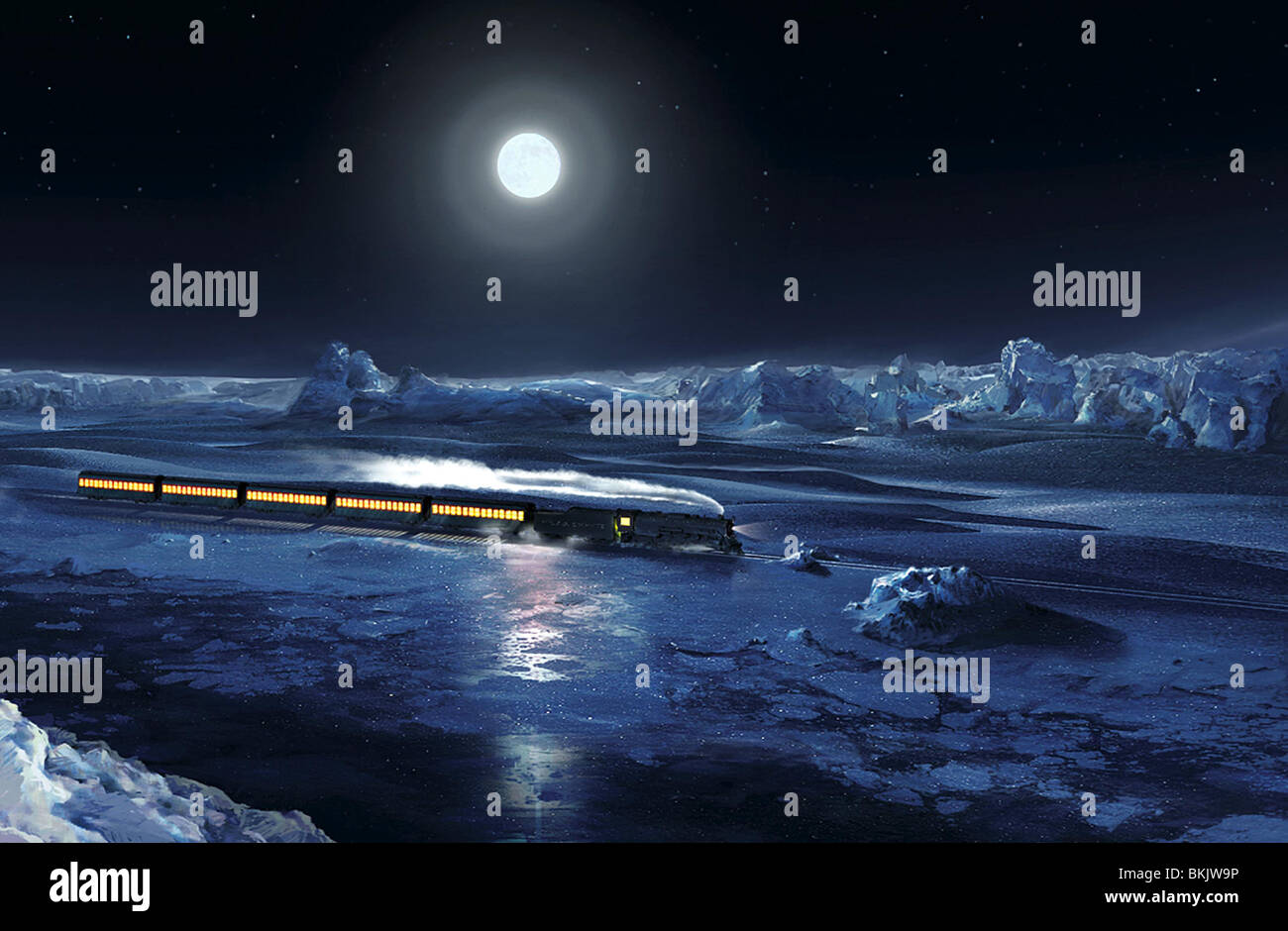 The Polar Express 2004 Stock Photo Alamy