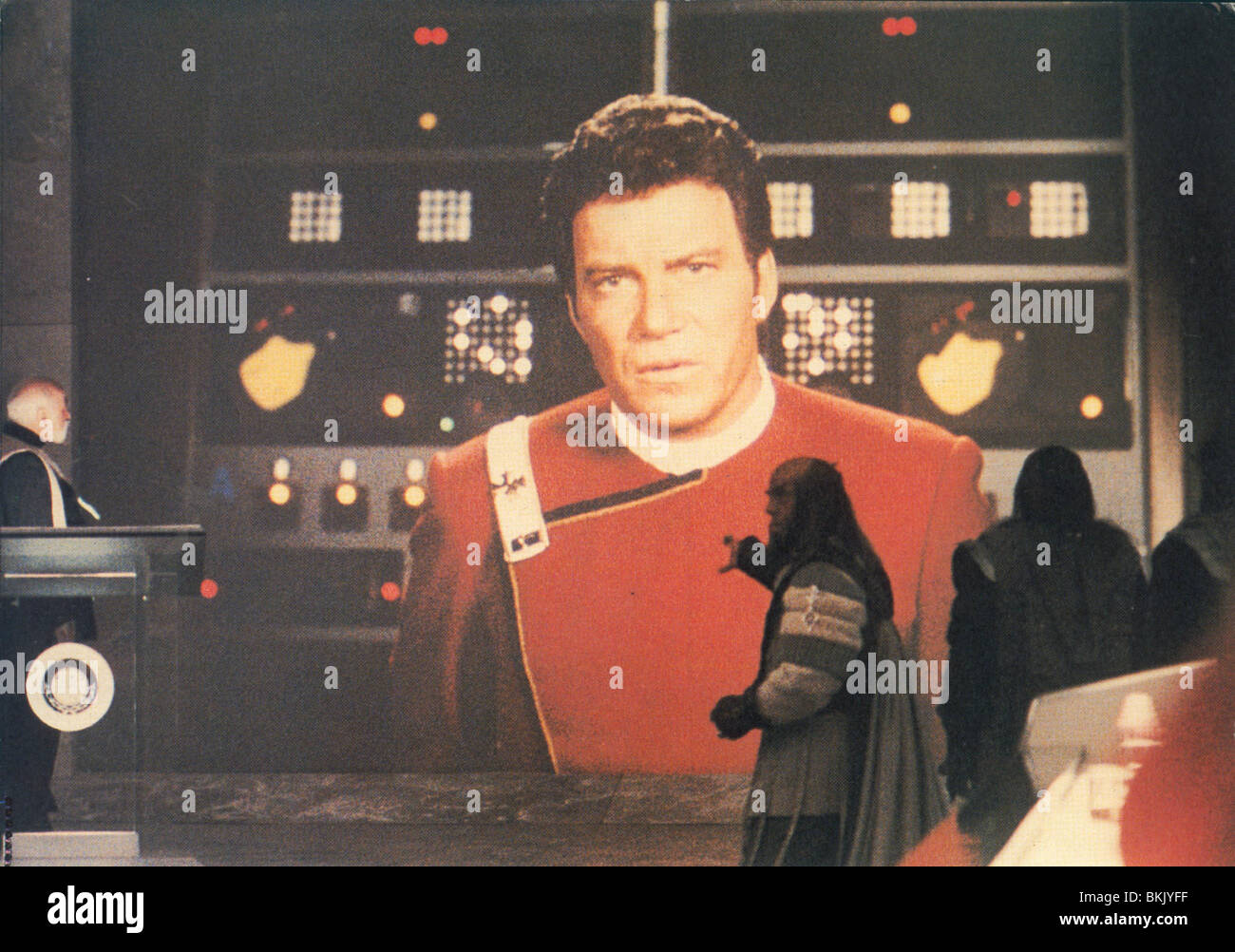 STAR TREK IV: THE VOYAGE HOME (1986) WILLIAM SHATNER, JOHN SCHUCK ST4 001FOH Stock Photo