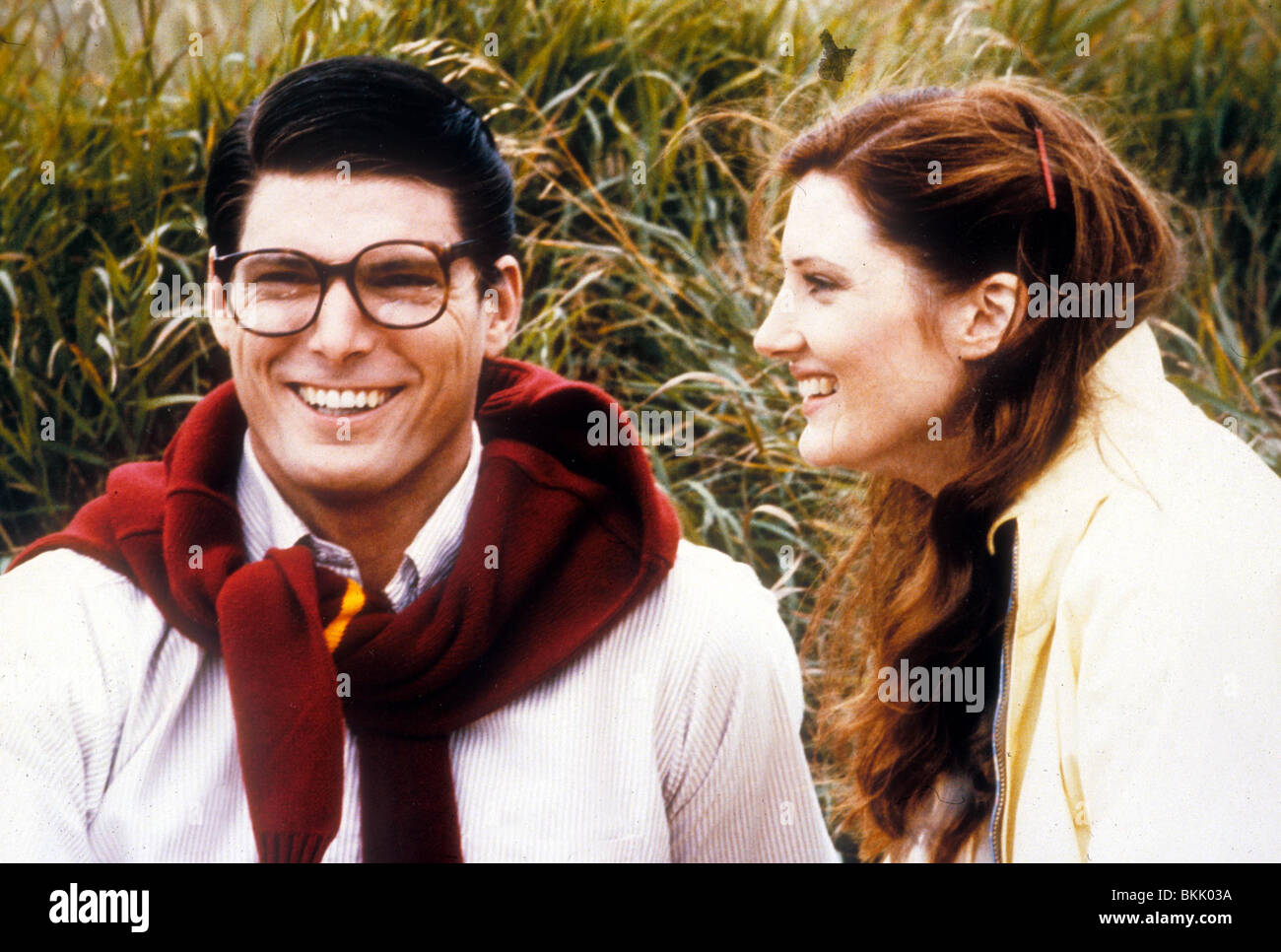 SUPERMAN III (1983) CHRISTOPHER REEVE, ANNETTE O'TOOLE SP3 056 Stock Photo